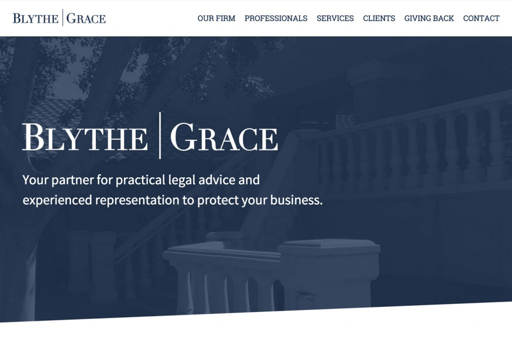Blythe Grace Marketing Site