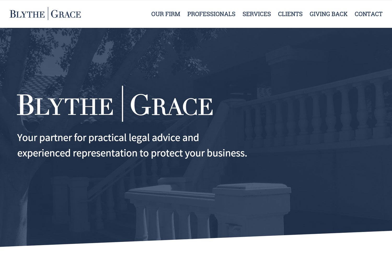 Blythe Grace Marketing Site