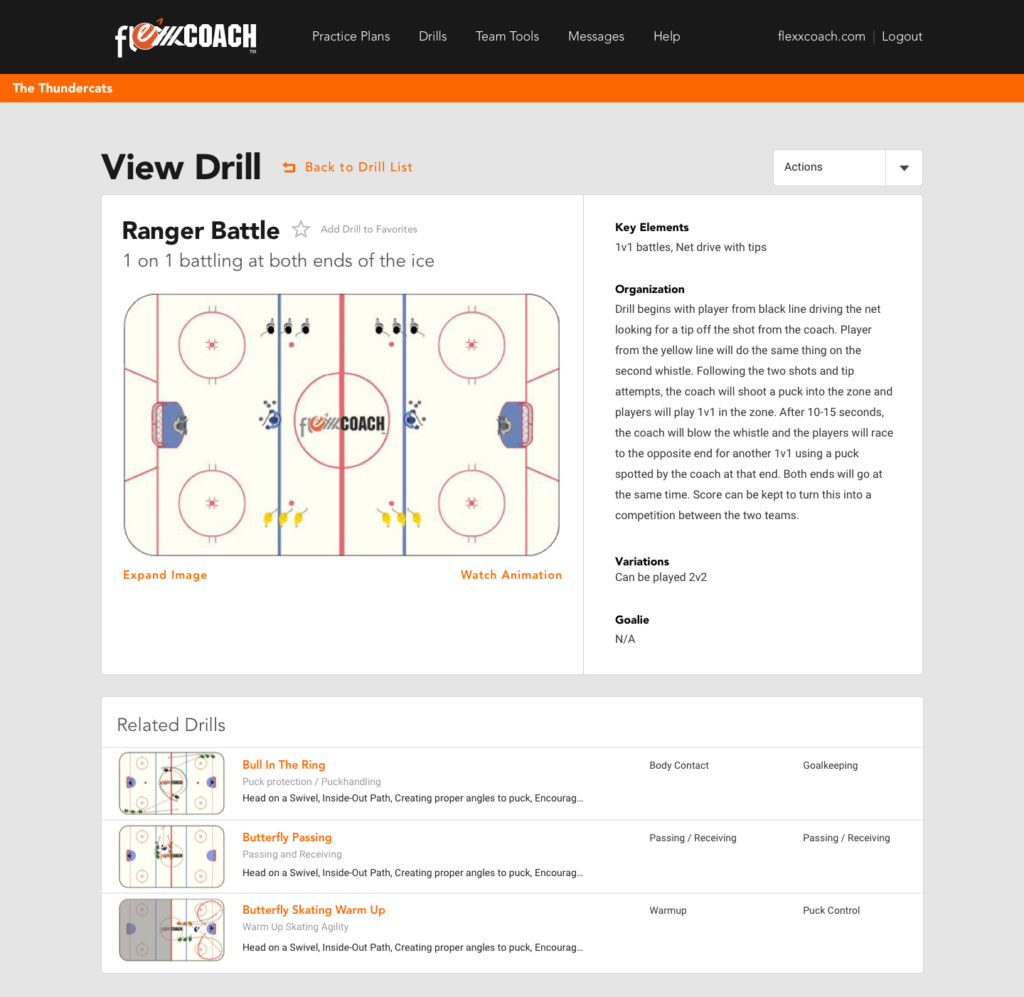 view-drill-page